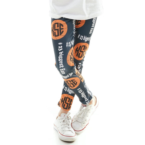 Girls Basketball Arden Leggings