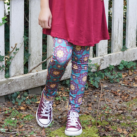 Girls Medallion Arden Leggings