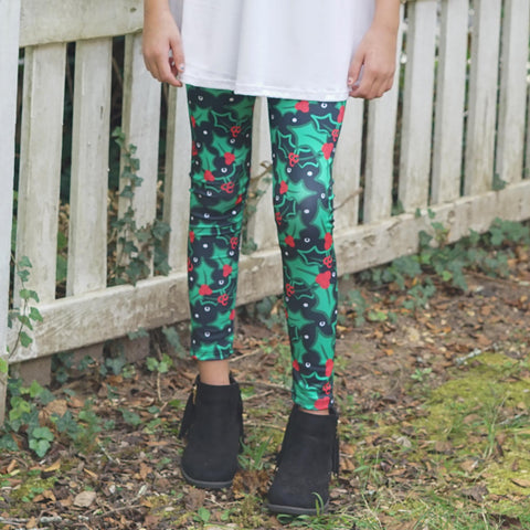 Girls Holly Jolly Arden Leggings