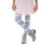 Girls Alaskan Nights Plaid Arden Leggings
