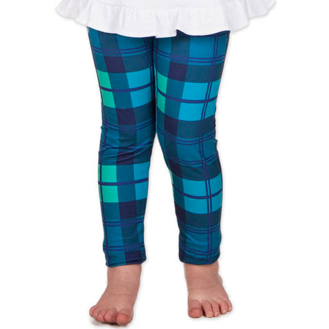 Girls Classic Plaid Arden Leggings