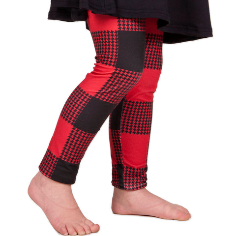 Girls Buffalo Check Arden Leggings