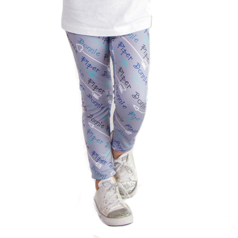 Girls Arrow Name Arden Leggings