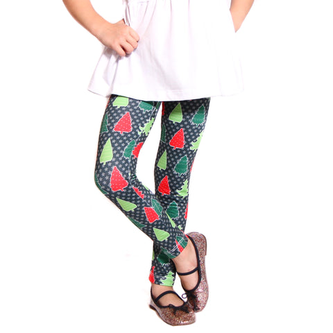 Girls Tree Frenzy Arden Leggings