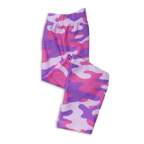 Baby Girls Camo Ireland Leggings
