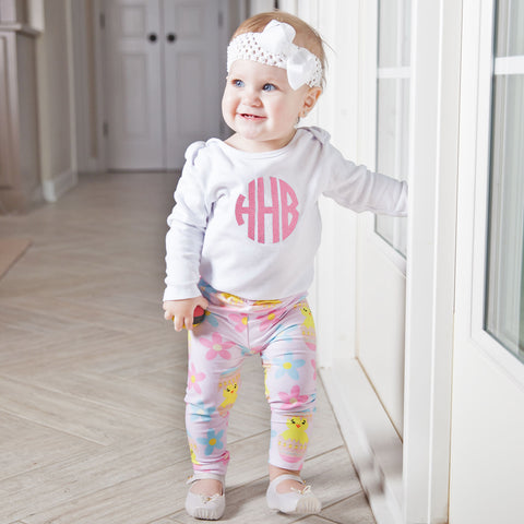Baby Girls Chick Ireland Leggings