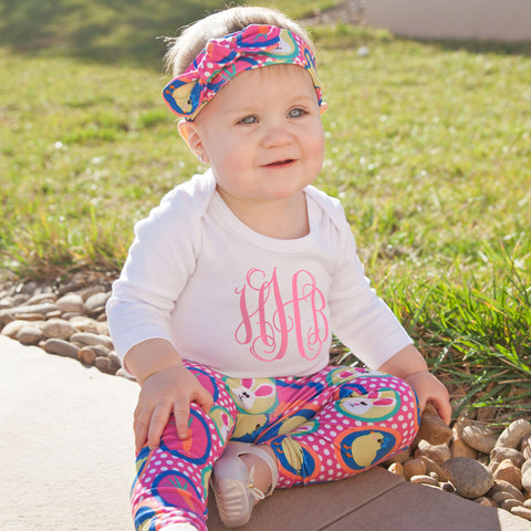 Baby Girls Easter Ireland Leggings