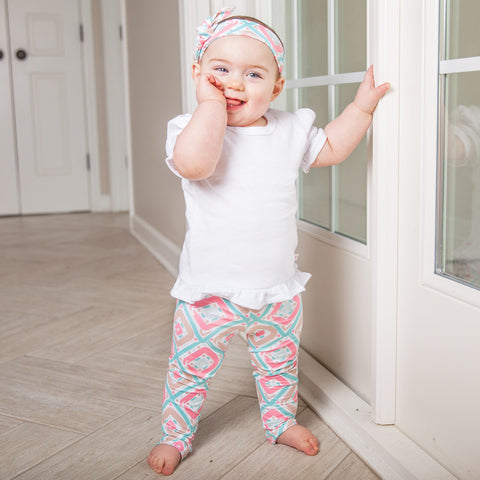 Baby Girls Diamond Ireland Leggings
