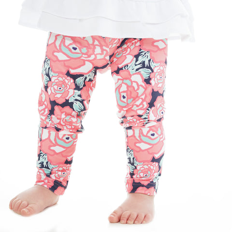 Baby Girls Peony Ireland Leggings