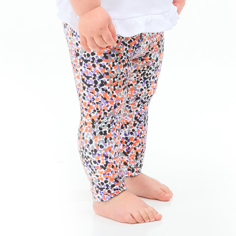 Baby Girls Halloween Dancing Dots Ireland Leggings