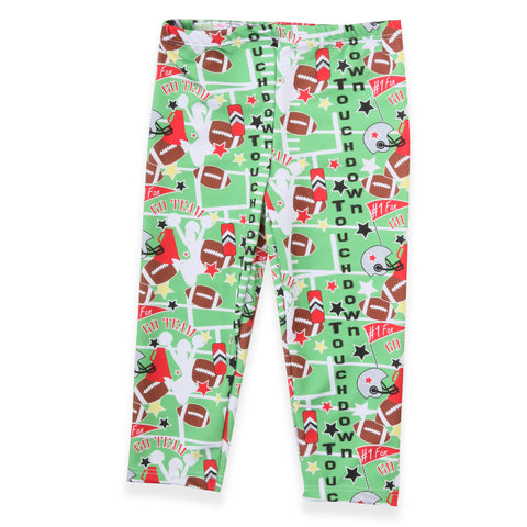 Baby Girls Football Emoji Ireland Leggings