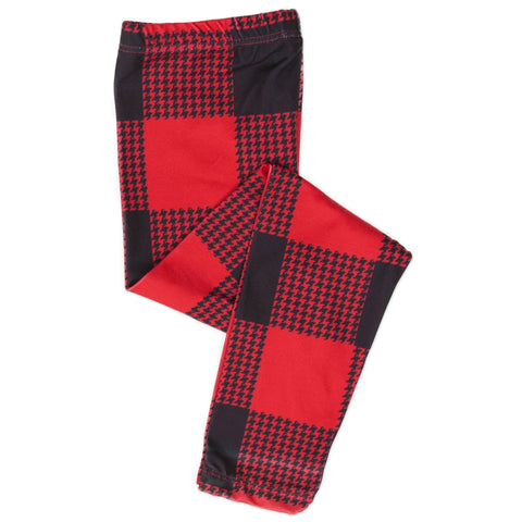 Baby Girls Buffalo Check Ireland Leggings