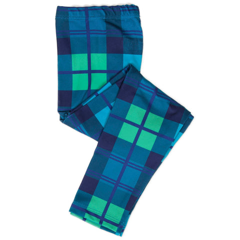 Baby Girls Classic Plaid Ireland Leggings
