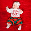 Baby Girls Plaid Loungewear Set