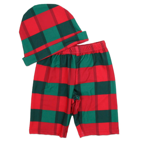 Baby Boys Plaid Loungewear Set