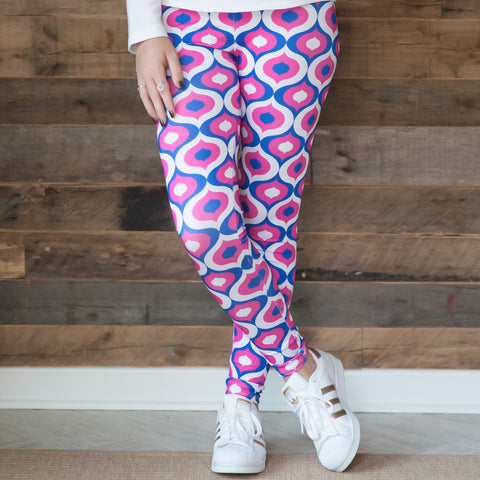 Ladies Geo Arden Leggings