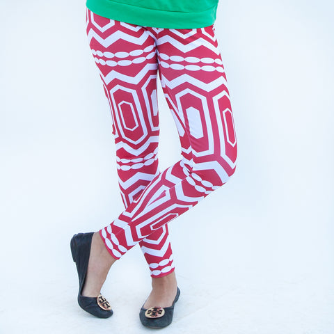 Ladies Abstract Arden Leggings