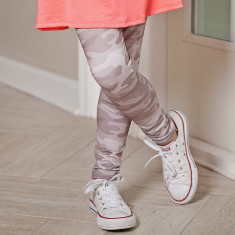 Girls Camo Arden Leggings
