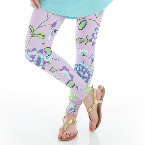 Ladies Flower Vine Arden Leggings