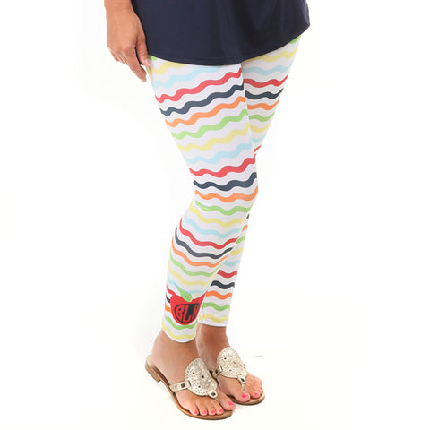Ladies Wave Apple Arden Leggings