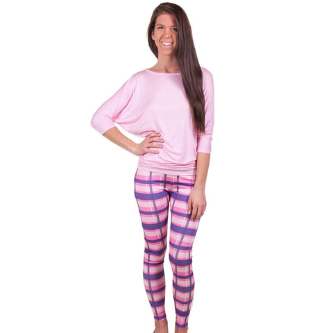 Ladies Plaid Arden Leggings
