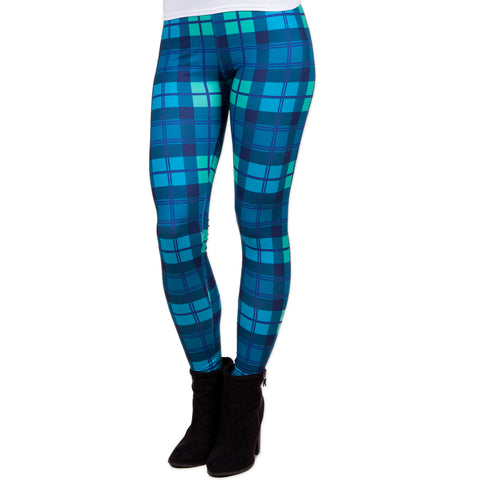 Ladies Classic Plaid Arden Leggings