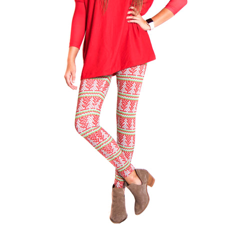 Ladies Christmas Knit Arden Leggings