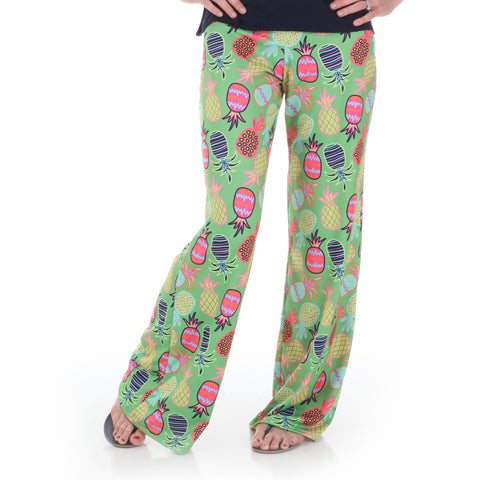 Whimsy Pineapple Palazzo Pants