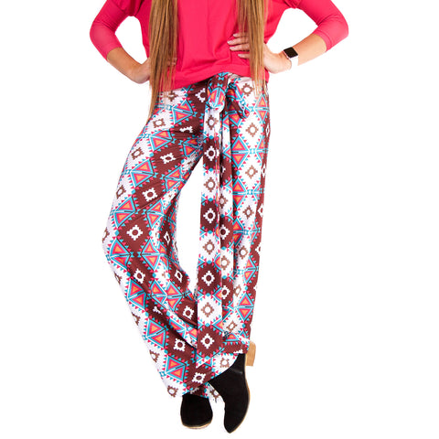 Tribal Triangles Palazzo Pant