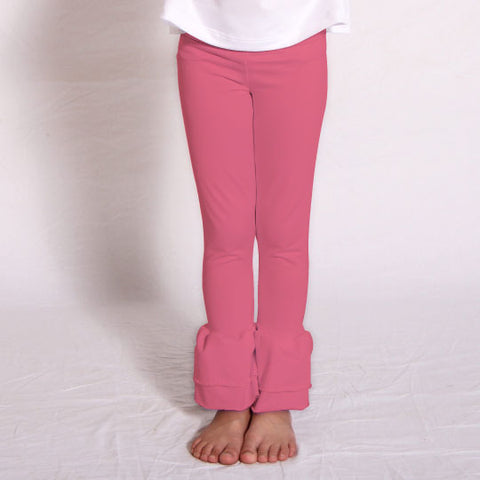 Girls Bubblegum Ruffle Leggings