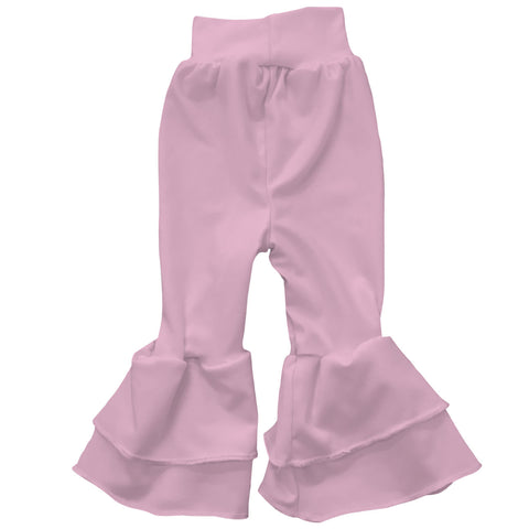 Baby Girls Light Pink Ruffle Leggings