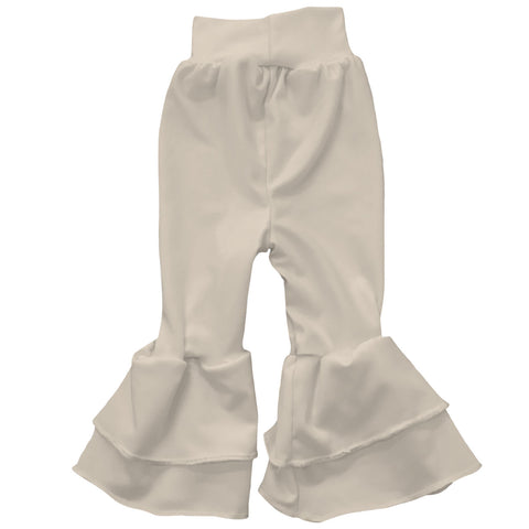 Baby Girls Sand Ruffle Leggings