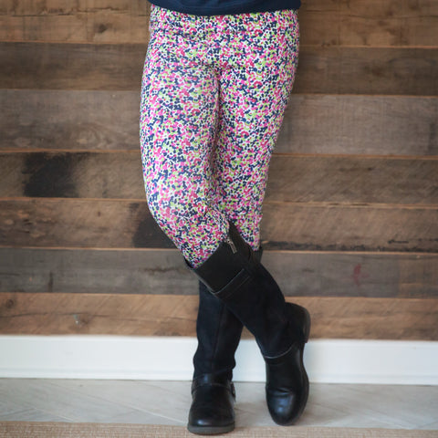 Girls Dancing Dot Arden Leggings