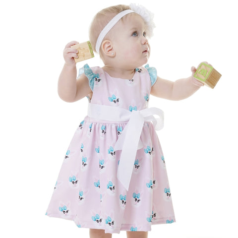 Whimsy Bunny Ava Dress