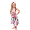 Rose Drop Sash Ava Dress