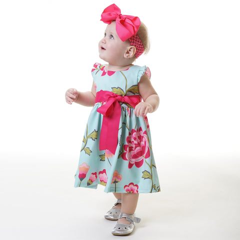 Flower Vine Ava Dress