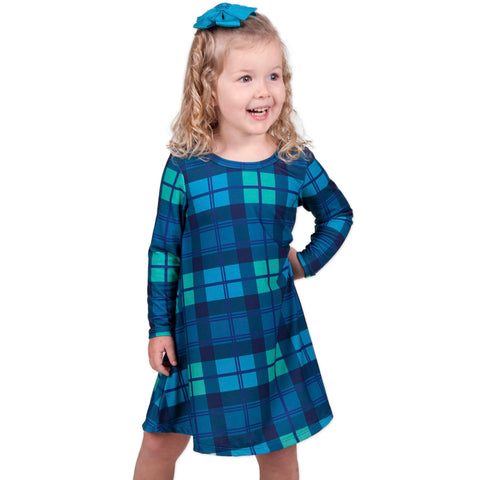 Classic Plaid Charlee Dress