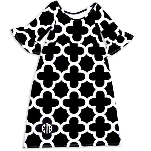 Quatrefoil Liv Dress