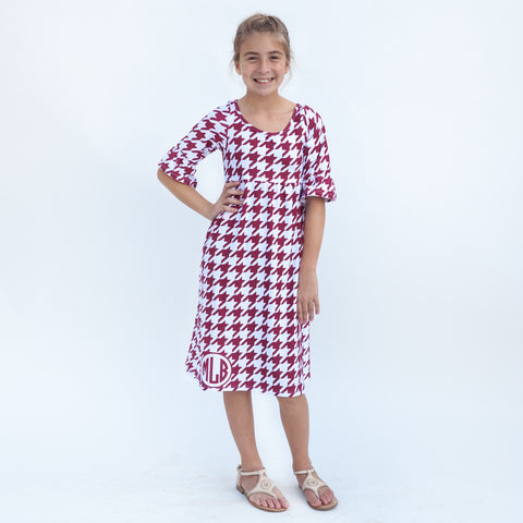 Houndstooth Liv Dress