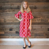 Lattice Liv Dress