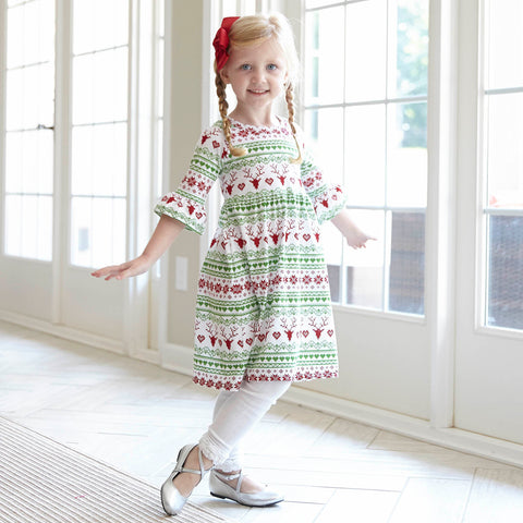 Fairisle Liv Dress