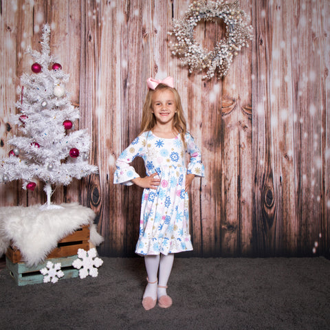 Delightful Snowflakes Livvy Dress