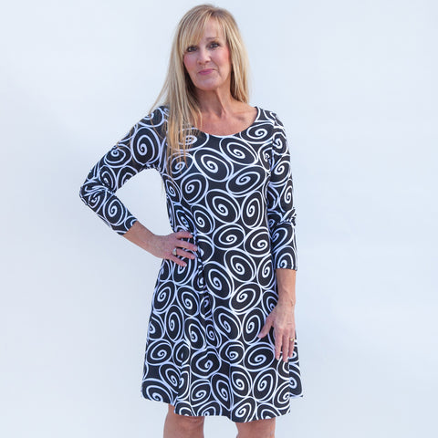 Swirl Aubrey Dress