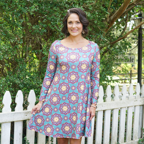 Medallion Aubrey Dress