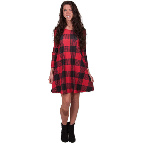 Buffalo Check Aubrey Dress