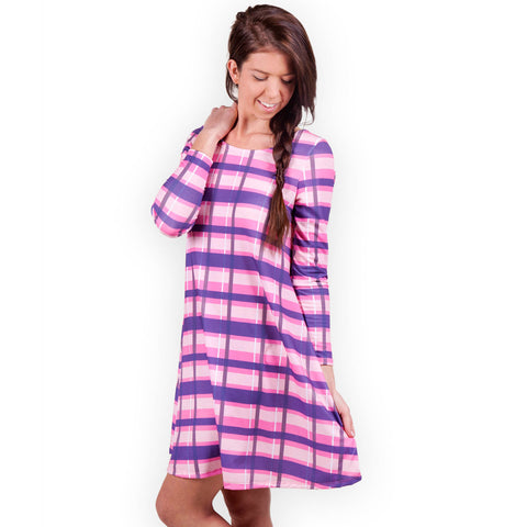 Plaid Aubrey Dress