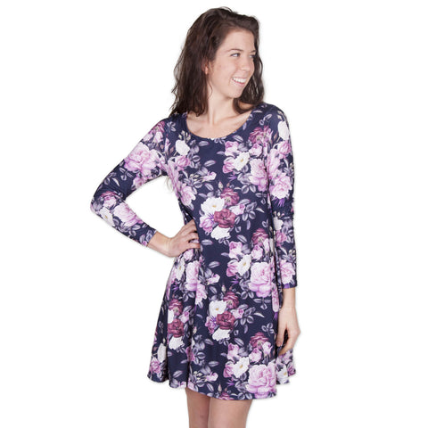 Floral Bouquet Aubrey Dress