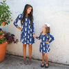 Navy Deer Charlee Dress