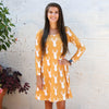 Mustard Deer Aubrey Dress