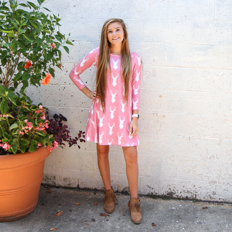 Pink Deer Aubrey Dress